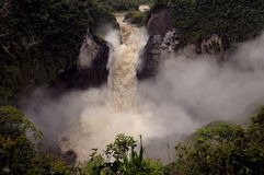 Падения San Rafael, эквадор Стоковые Изображения