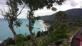 San Rafael Beach, República Dominicana Fotos de archivo libres de regalías
