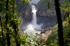 San Rafael Falls. Ecuador Stock Image