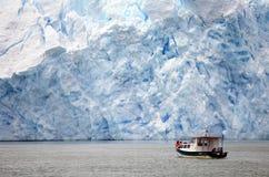 San Rafael Glacier, Patagonia, Chile imagenes de archivo