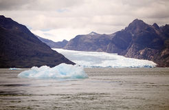 San Rafael Glacier, Patagonia, Chile Stock Images