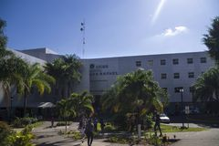 San Rafael Hospital dans Alajuela, Costa Rica Photo libre de droits