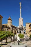 San Rafael Monument, Cordoba, Spain. Stock Photos