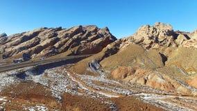 San Rafael pęcznienie Utah - powietrzny materiał filmowy - międzystanowi 70 - zdjęcie wideo