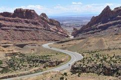 San Rafael pęcznienie, Utah Zdjęcia Royalty Free