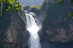 San Rafael spadki, Ekwador Obrazy Stock