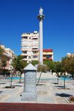 San Rafael Square, Fuengirola. Royalty Free Stock Photography