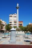 San Rafael Square, Fuengirola. Royalty Free Stock Photography