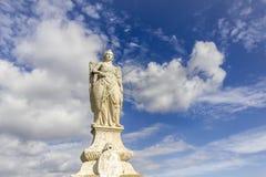 San Rafael statue in Cordoba Royalty Free Stock Photos
