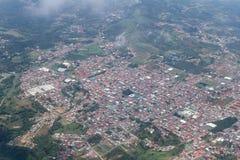 San Ramon от самолета Стоковое Фото