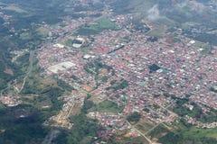 San Ramon от самолета Стоковая Фотография RF