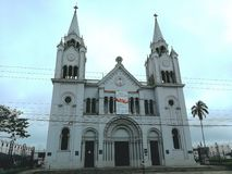 San Ramon Catholic church Costa Rica. Church in Costa Rica Royalty Free Stock Photo