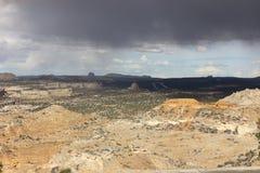 San Raphael Valley nell'Utah del sud Immagine Stock