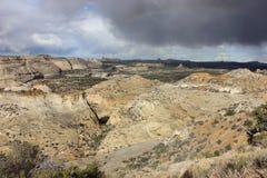 San Raphael Valley nell'Utah del sud Fotografia Stock Libera da Diritti