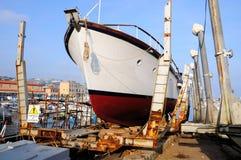 San Remo dockyard. Stock Photos