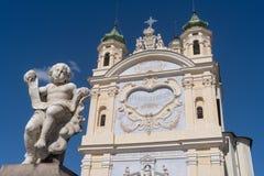 San Remo, Italia, santuario la nostra signora del mare immagine stock libera da diritti