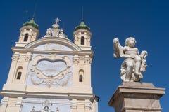 San Remo, Italia, santuario la nostra signora del mare immagini stock