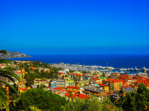 San Remo, Italy. Harbor in San Remo, Italy Stock Images