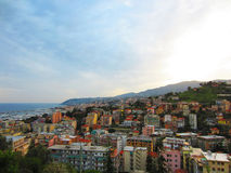 San Remo, Italy. View of San Remo in Italy Stock Images