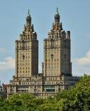 San Remo Towers en Central Park Imagen de archivo