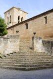 San Román Church, Cirauqui. Navarre. Spain. Royalty Free Stock Images