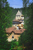 San Romedio Church On Alps Royalty Free Stock Photography