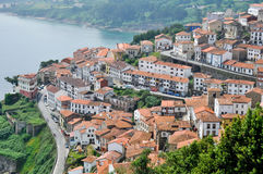 San Roque Lookout, Lastres (Spain) Stock Photo