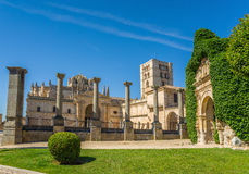 San Salvador Cathedral In Zamora, Castilla Y Leon. Spain. Stock Photography