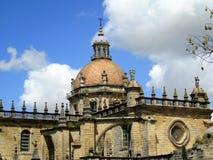 San Salvador Cathedral Jerez de la Frontera Spain Stock Image