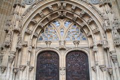 San Salvador de Catedral de, Espanha de Oviedo Fotos de Stock Royalty Free