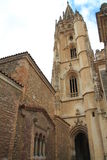 San Salvador de Catedral de, Oviedo España Imagen de archivo libre de regalías