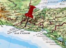San Salvador i El Salvador Arkivfoton