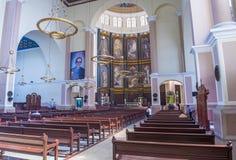 San Salvador katedra Obrazy Royalty Free