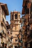 San Salvador kościół, Getaria Hiszpania (Baskijski kraj) Obrazy Stock