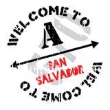 San Salvador stamp Royalty Free Stock Photos