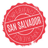 San Salvador stamp Royalty Free Stock Image