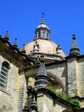 San- Salvadorkathedralejerez-De-La Frontera Spanien Stockfotografie