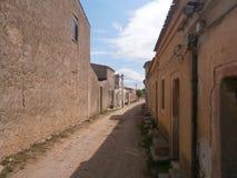San Salvatore, città fantasma immagine stock