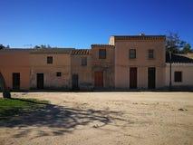 San Salvatore di Sinis Village, in Sardinien Lizenzfreie Stockfotos