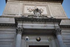 San Salvatore i den Lauro kyrkan royaltyfria foton