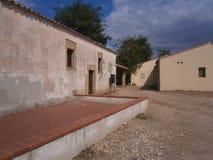 San Salvatore, spookstad Stock Afbeeldingen