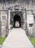San San Cristobal, fortezza della collina dello zolfo Fotografia Stock Libera da Diritti