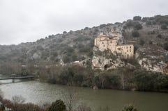 San Saturio Hermitage foto de archivo libre de regalías