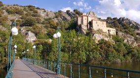 San Saturio Hermitage imagen de archivo