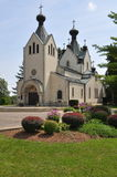 San Sava Serbian Orthodox Monastery fotografia stock