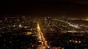 San scénique Francisco Skyline banque de vidéos