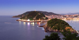 San Sebastián Stockfotos