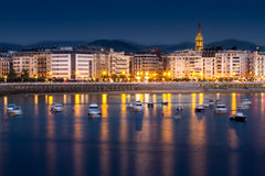 San Sebastián lizenzfreies stockbild