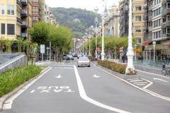 San Sebastián Die Kulturhauptstadt von Europa Lizenzfreies Stockbild