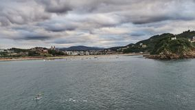 San Sebastián, Donostia, España Fotografía de archivo libre de regalías